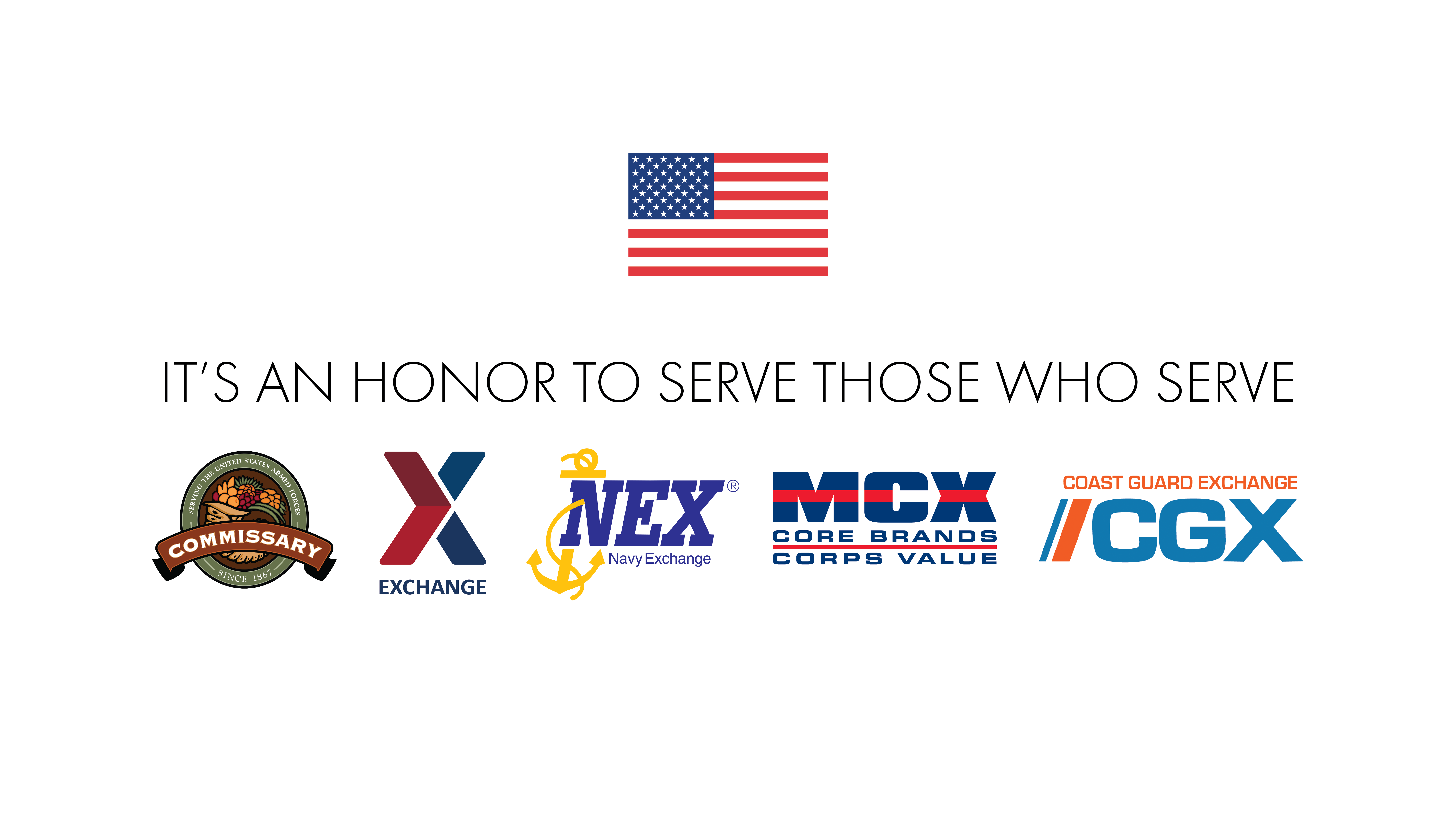 It's an honor to serve those who serve