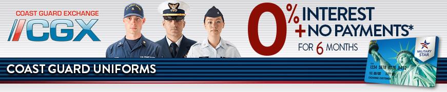 Military Star Coast Guard Uniforms