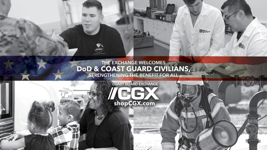 Welcome DoD & Coast Guard Civilians!