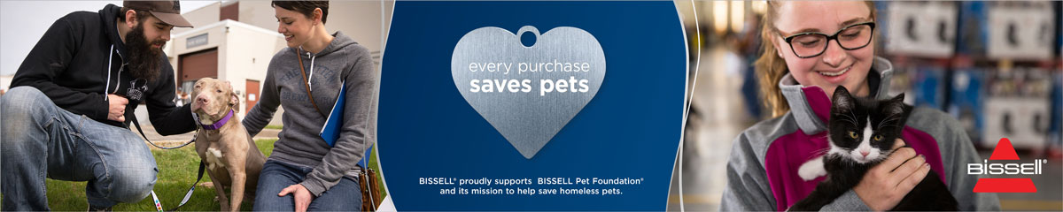 Bissell Pet Banner