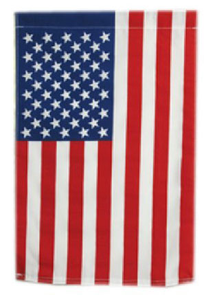 United States Garden Flag - Cotton 12'X18""