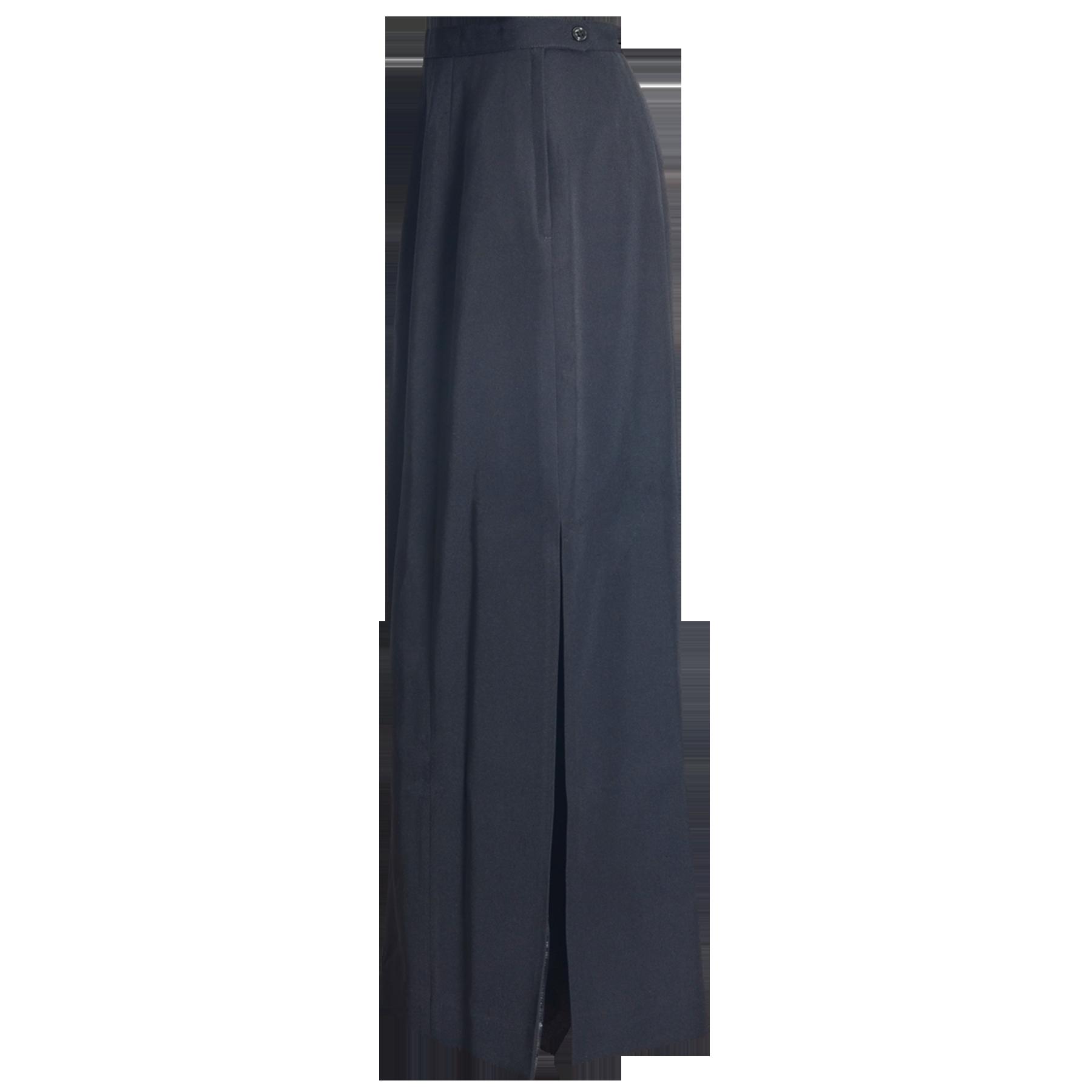 Dress Dinner Blue Long Skirt