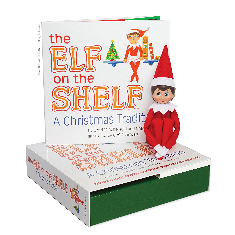 Elf on the Shelf: A Christmas Tradition (Female Elf)