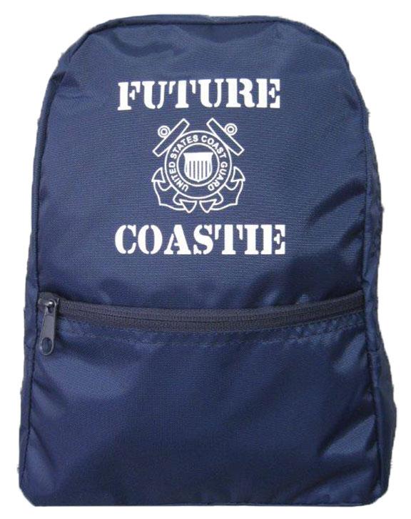 """Future Coastie"" Children's Backpacks"