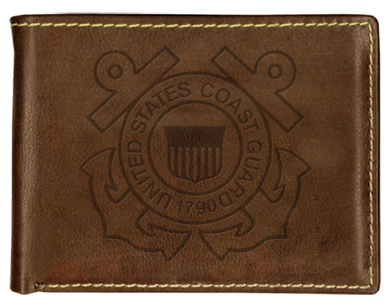 CG Contrast Stitch Bi-Fold Wallet