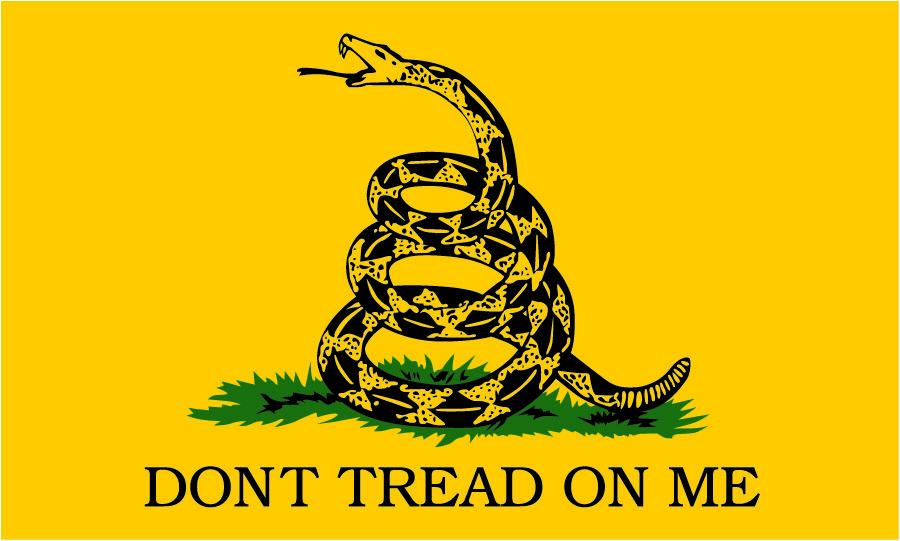 "3X5 ""Don't Tread On Me"" Flag"