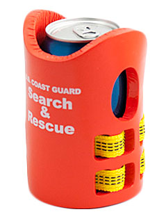 Coast Guard Life Vest Koozie