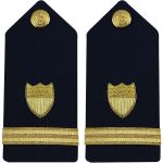 Hard Shoulder Board: Ensign (3/4 Size)