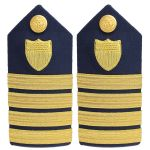 Hard (3/4 Size) Shoulder Board Captain (O6)