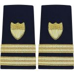 Enhanced (Soft) 3/4 Size Shoulder Board Lieutenant (O3)