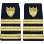 Enhanced (Soft) 3/4 Size Shoulder Boards Commander (O5)