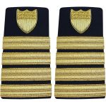 Enhanced (Soft) 3/4 Size Shoulder Board Captain (O6)