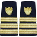 Enhanced (Soft) Shoulder Board Commander (O5)