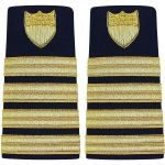 Enhanced (Soft) Shoulder Board Captain (O6)