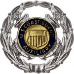Coast Guard Auxiliary Badge: Operations Auxiliarist- Regulation Size