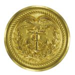 Coast Guard Button: 35 Ligne Gold for Jacket