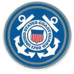 Coast Guard Emblem Magnet