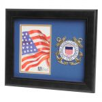 USCG Medallion Portrait Picture Frame