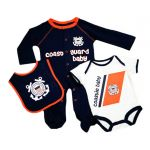 Coast Guard 3-Piece Baby Set