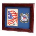 USCG Medallion Portrait Picture Frames