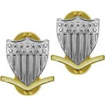 Petty Officer 3rd Class E-4 Collar Device (Metal)