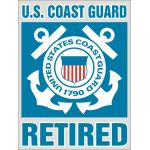 """CG Retired"" Bold Decal"