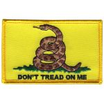 """Don't Tread On Me"" Patch"