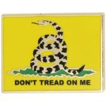 """Don't Tread On Me"" Lapel Pin"