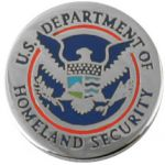 Department Of Homeland Security Pin
