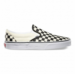 Vans Mens Checkerboard Classic Slip-On Sneaker Right Side View