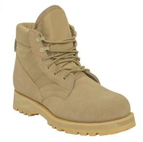 Rothco Mens Military Combat Work Boot Right Side Angle View