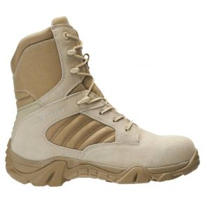 Bates Mens GX-8 Desert Composite Toe Side Zip Boot Right View