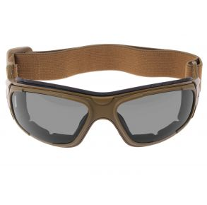 Rothco Interchangeable Optical System - Coyote Brown Front View