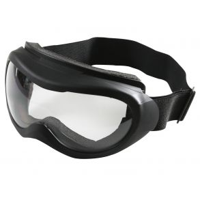 Rothco Black Windstorm Tactical Goggle Left Side View