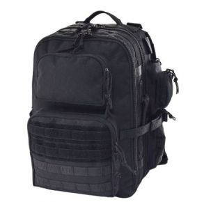 Flying Circle Brazos Concealed Carry Backpack - Black Front View