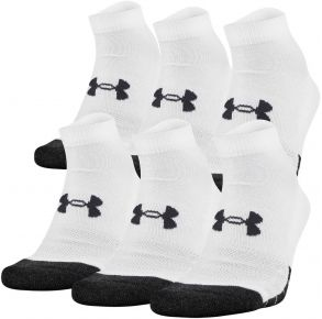 Under Armour UA Performance Tech Low Cut Socks 6 Pack Front View