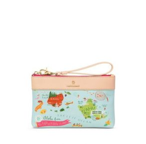 Spartina 449 Greetings From Hawaiian Islands Scout Wristlet Front View