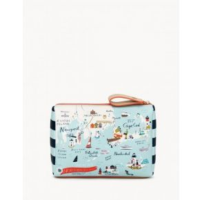 Spartina 449 Greetings From Northeastern Harbors Carry All Case Front View