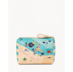 Spartina 449 Greetings From Sea Islands Carry All Case Front View