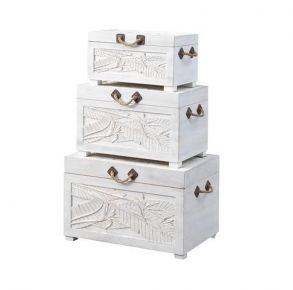 Coast to Coast Accents Nesting Trunks Right Side View