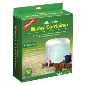 Coghlan's Collapsible Water Container - 5 Gallon Front View