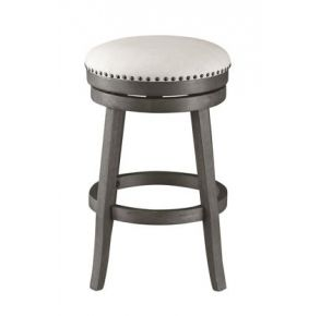 Coast to Coast Accents Swivel Counter Height Barstool Front View