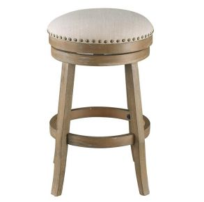 Coast to Coast Accents Swivel Counter Height Barstool Front ViewCoast to Coast Accents Swivel Counter Height Barstool