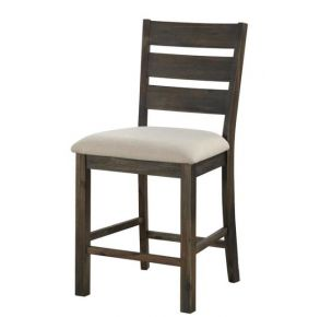 Counter Height Dining Chair Front View