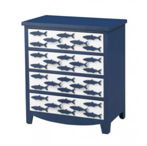 Four Drawer Chest Front View