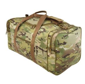 Flying Circle Large Square Duffel MultiCam Front of Bag View