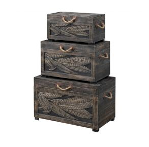 Accents Nesting Trunks Front View