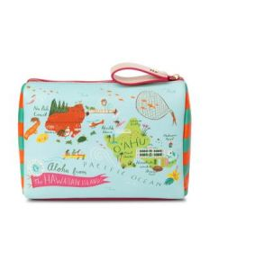 Spartina 449 Greetings From Hawaiian Islands Carry All Case Front of Case View