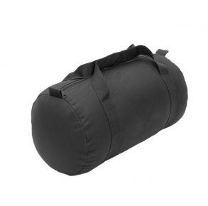 Flying Circle Medium Roll Duffel - Black Front of Bag View