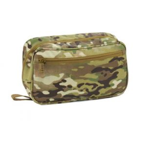Flying Circle Concho Hanging Toiletry Bag - MultiCam Front of Bag View